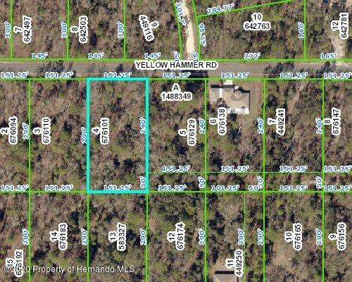Listing Details for 0 Yellow Hammer Road, Weeki Wachee, FL 34614