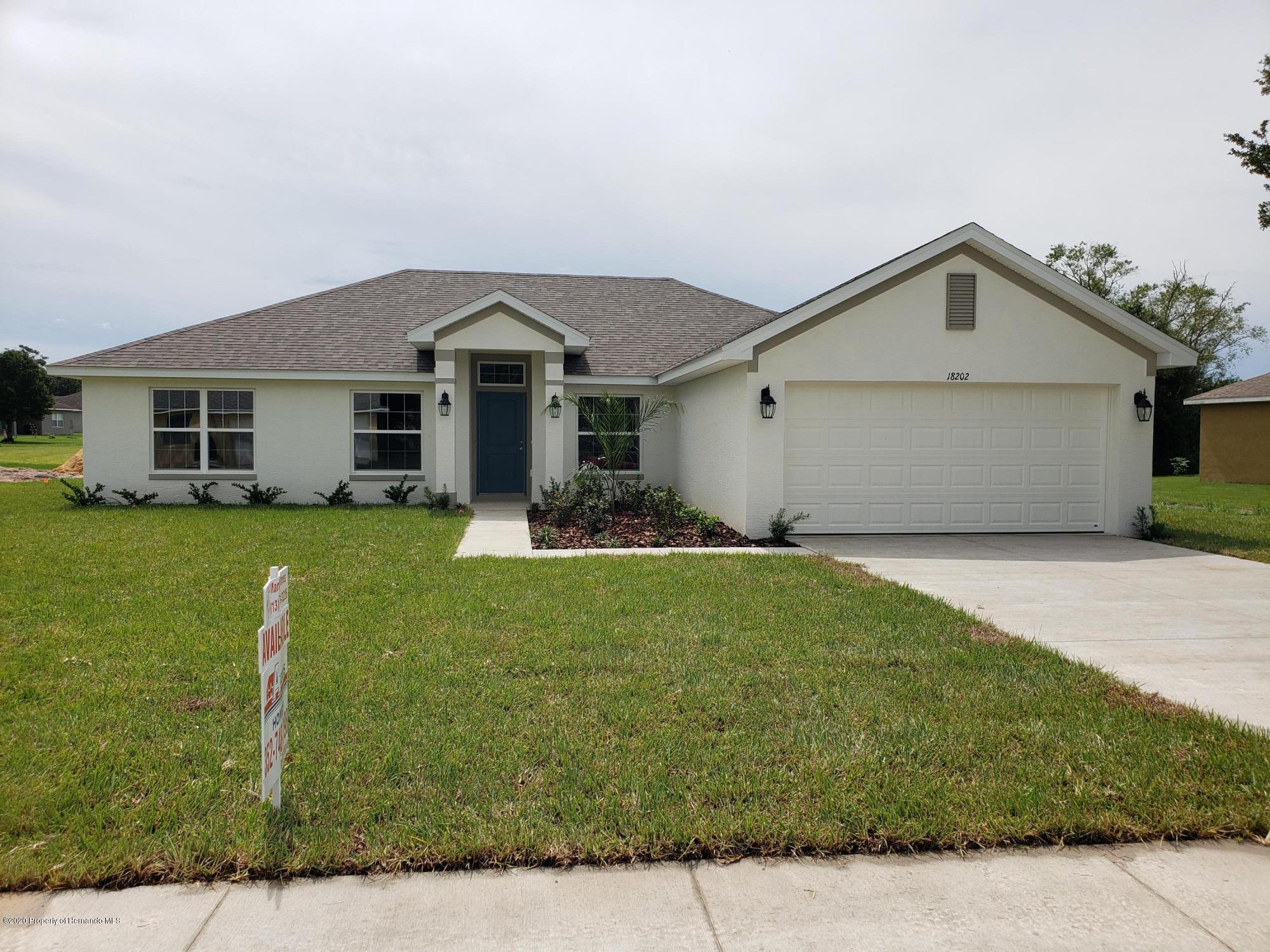 Listing Details for 18202 Rivard Boulevard, Brooksville, FL 34604