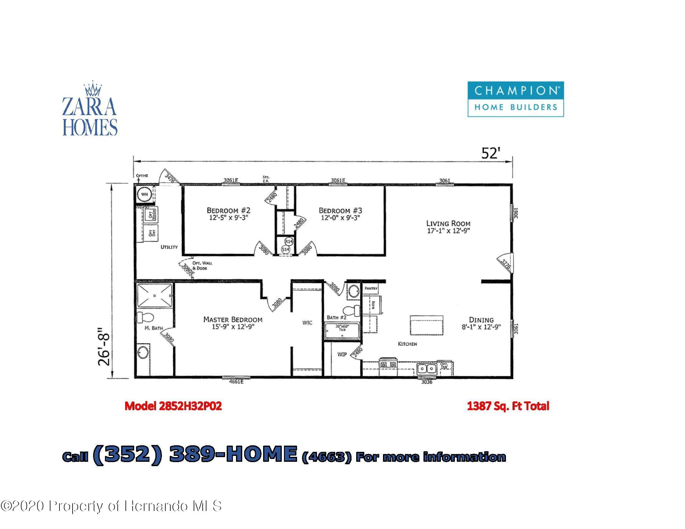 Details for 2864 Kingswood Circle, Brooksville, FL 34604