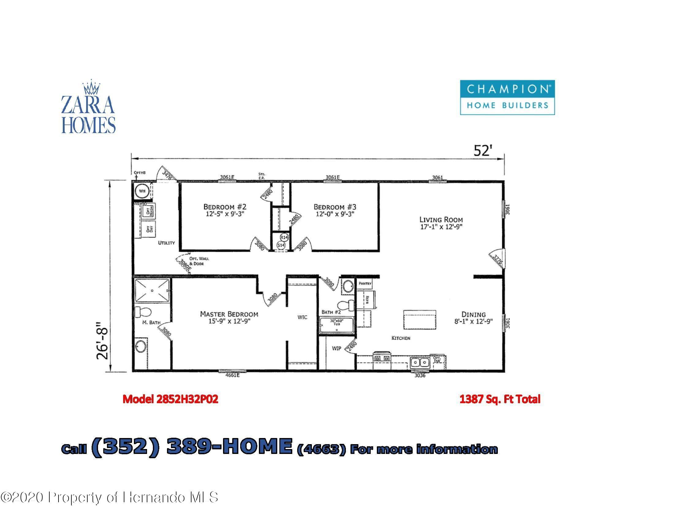 Details for 2482 Ivywood Drive, Brooksville, FL 34604
