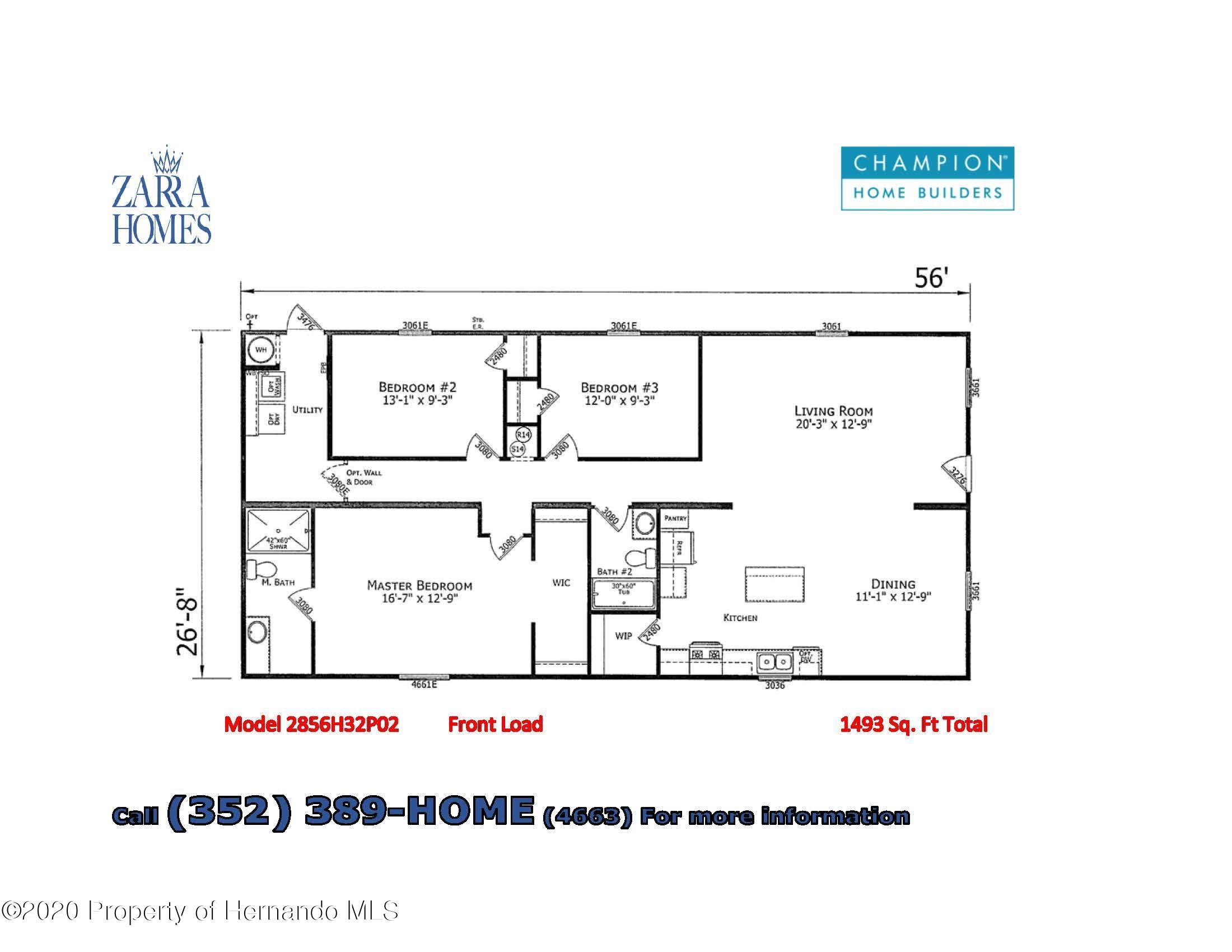 Details for 2442 Ivywood Drive, Brooksville, FL 34604