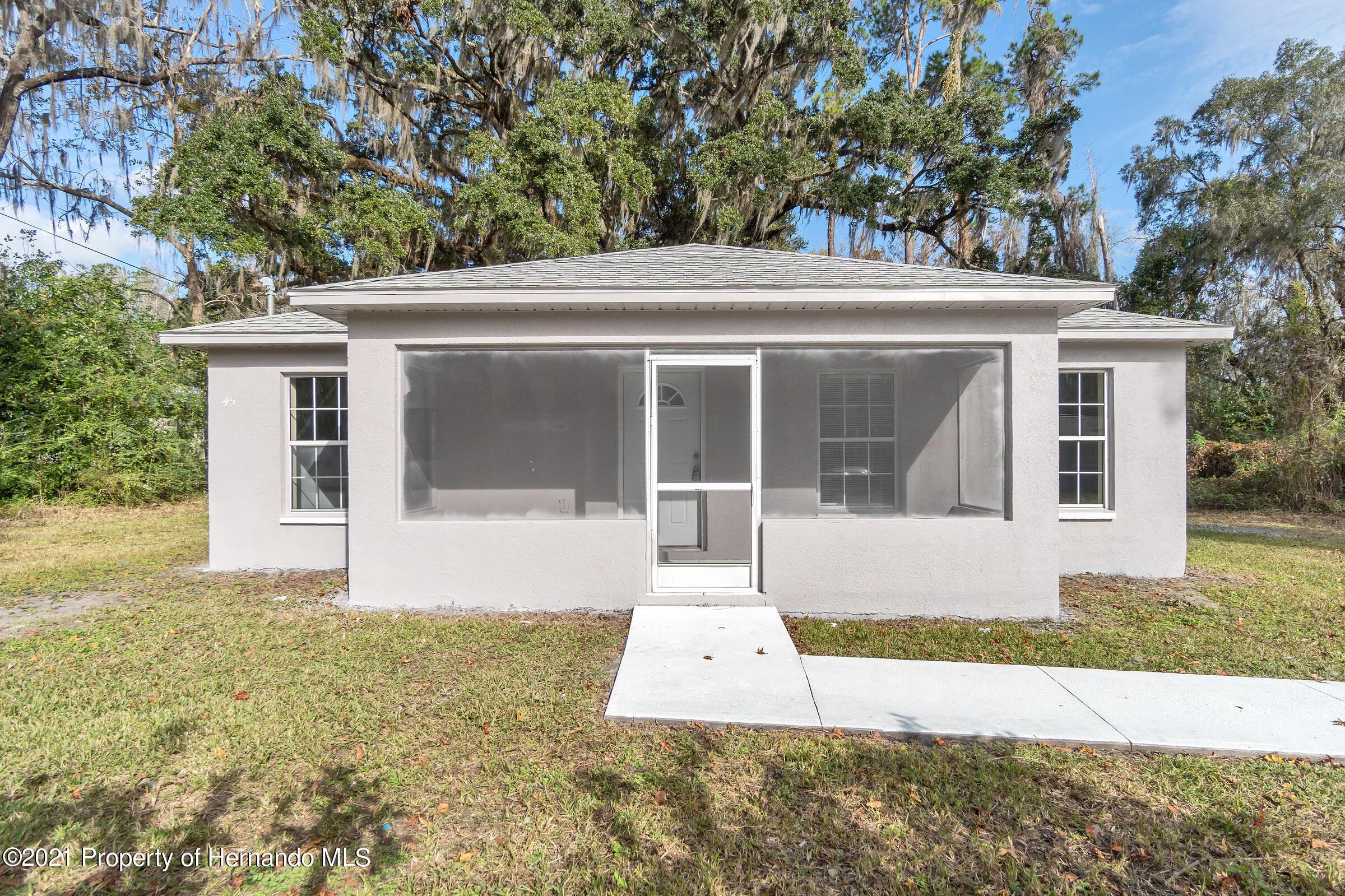 Details for 45 Railroad Place, Brooksville, FL 34601