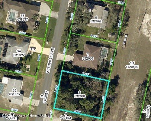 Listing Details for 00 Keysville, Spring Hill, FL 34608