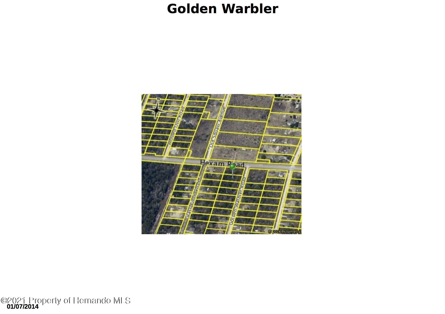 00 Golden Warbler Road