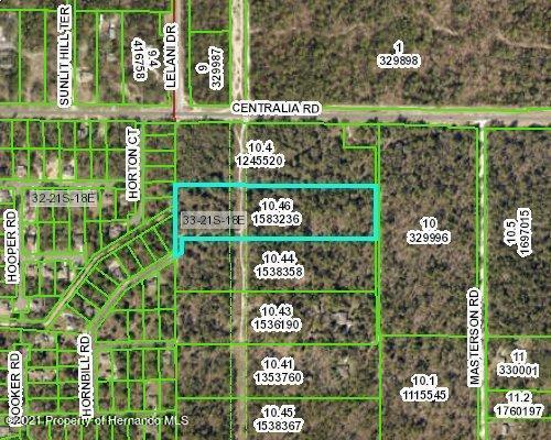 Listing Details for 0 Hornbill Road, Brooksville, FL 34614