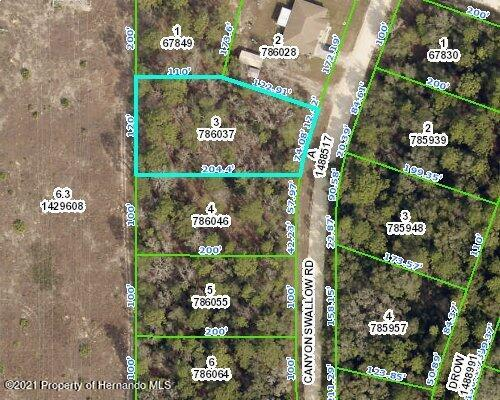 Listing Details for 0 Canyon Swallow Rd, Weeki Wachee, FL 34614