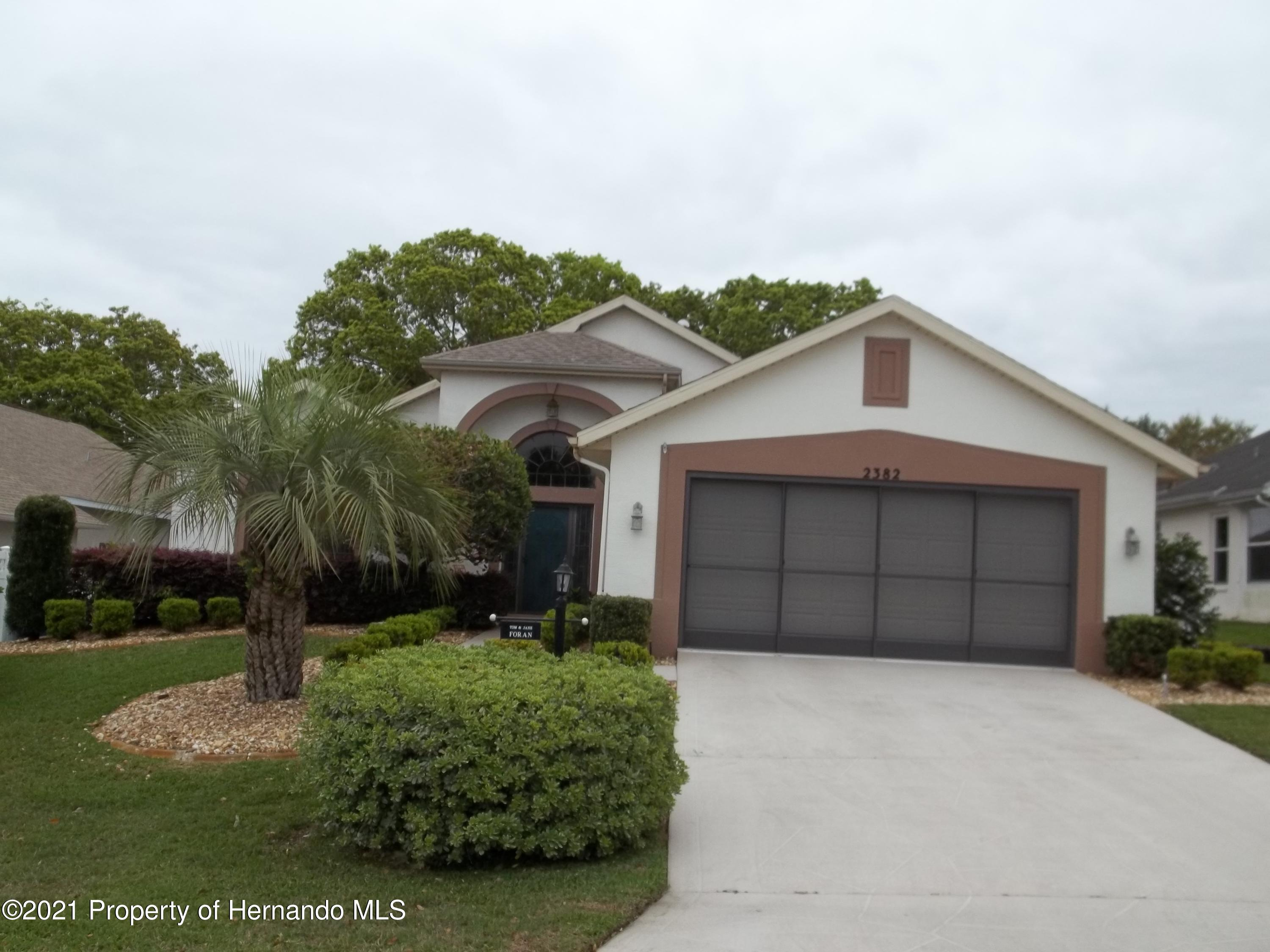 Details for 2382 Summercrest Lane, Spring Hill, FL 34606