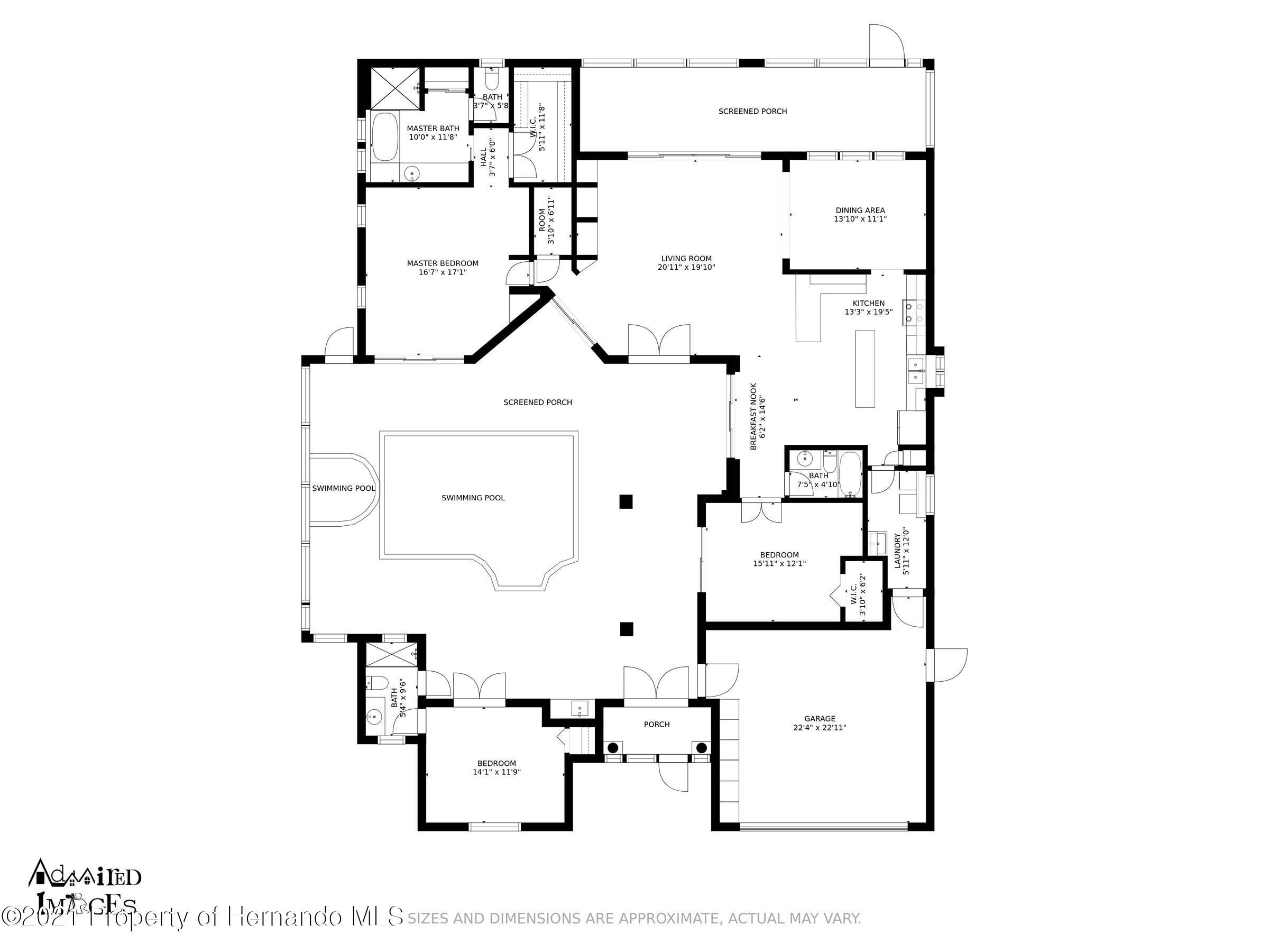 Listing photo id 2 for 4037 Breckland Court