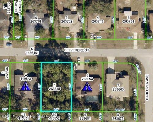 Listing Details for 00 Belvedere Street, Spring Hill, FL 34608