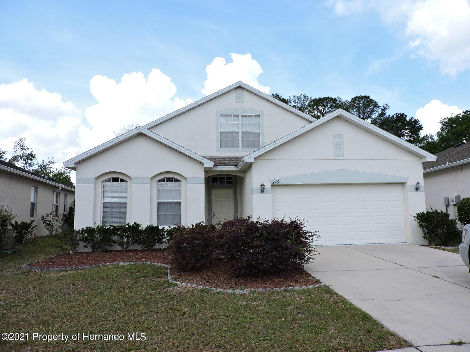 Details for 279 Fairmont Drive, Spring Hill, FL 34609