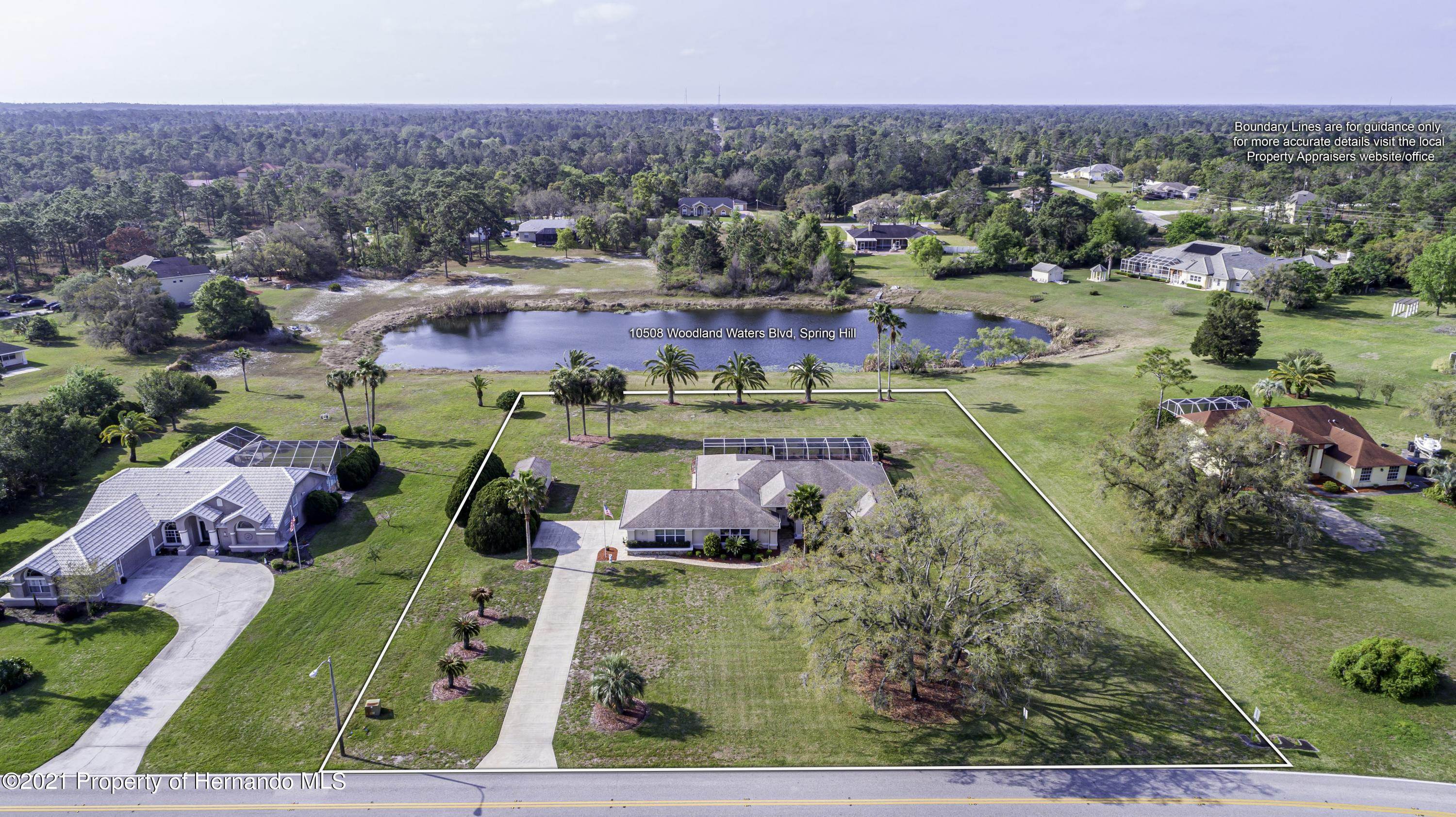 Details for 10508 Woodland Waters Boulevard, Weeki Wachee, FL 34613