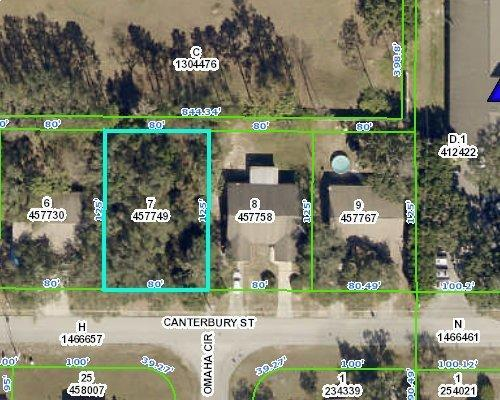 Listing Details for 0 Canterbury Street, Spring Hill, FL 34606
