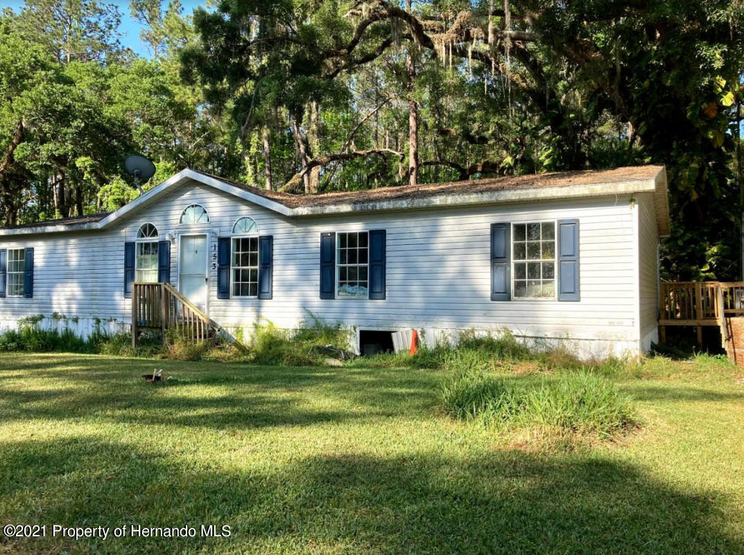 Details for 153 Dolly Drive, Brooksville, FL 34601