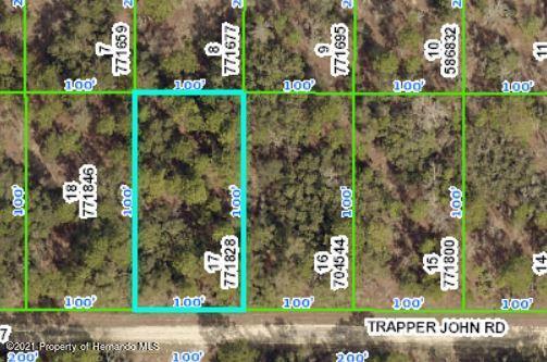 Listing Details for 13249 Trapper John Road, Brooksville, FL 34614
