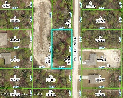 Details for 0 Mottled Owl Road, Weeki Wachee, FL 34614