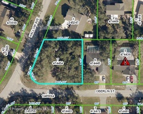 Listing Details for 0 Oberlin Street, Spring Hill, FL 34606