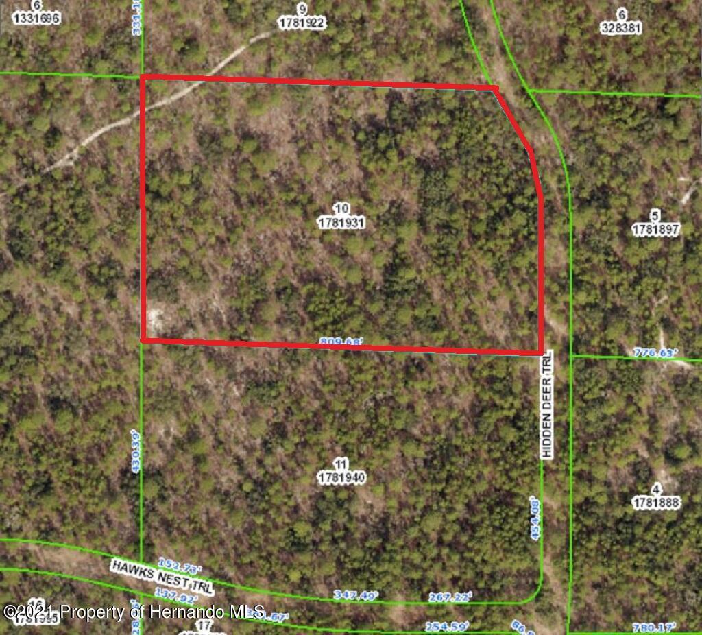 Details for 00 Hidden Deer Trail, Weeki Wachee, FL 34614