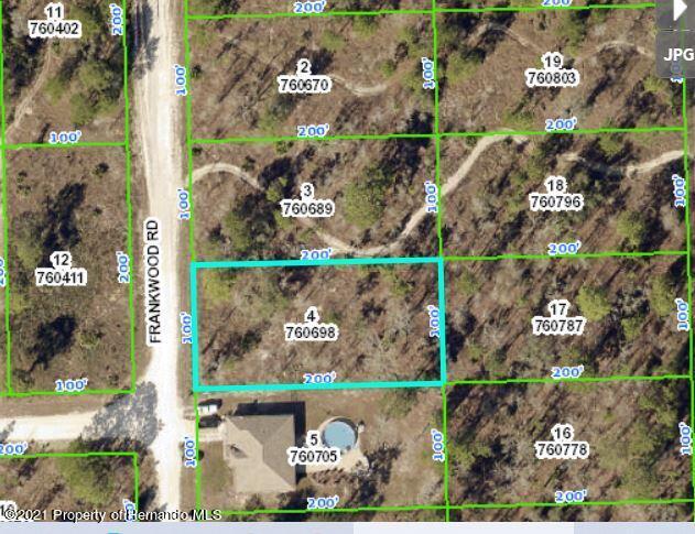 Listing Details for 12162 Frankwood Road, Brooksville, FL 34614