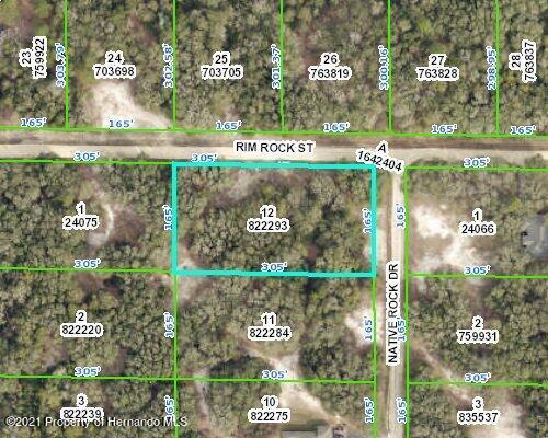 Details for Lot 12 Native Rock, Webster, FL 33597