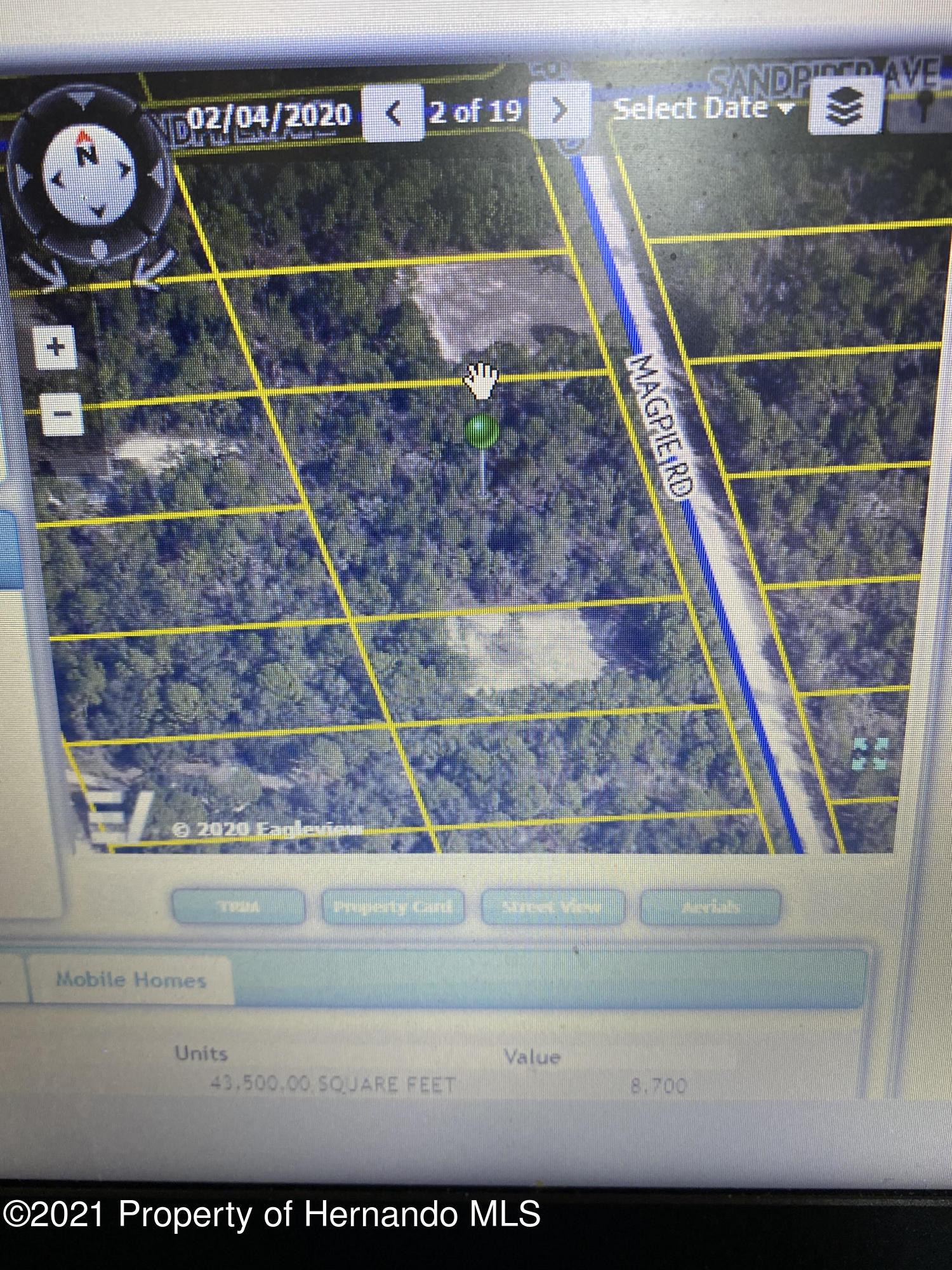 Details for 0 Magpie Road, Weeki Wachee, FL 34614
