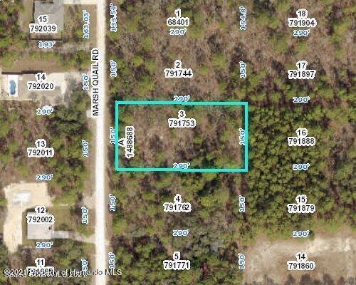 Listing Details for 0 Marsh Quail Road, Weeki Wachee, FL 34614