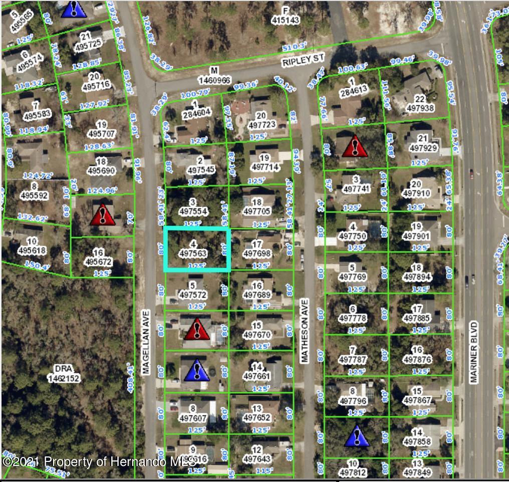 Details for 2484 Magellan Avenue, Spring Hill, FL 34608