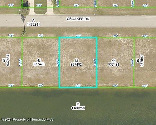 Details for 3392 Croaker Drive, Hernando Beach, FL 34607