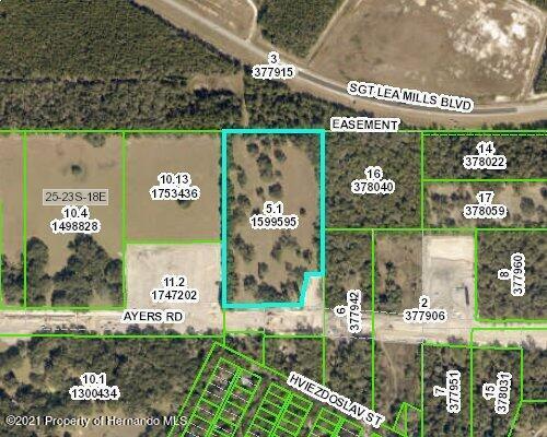 Details for 0 Ayers Road, Brooksville, FL 34601