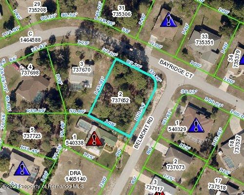 Listing Details for 0000000 Belmont Road, Spring Hill, FL 34606