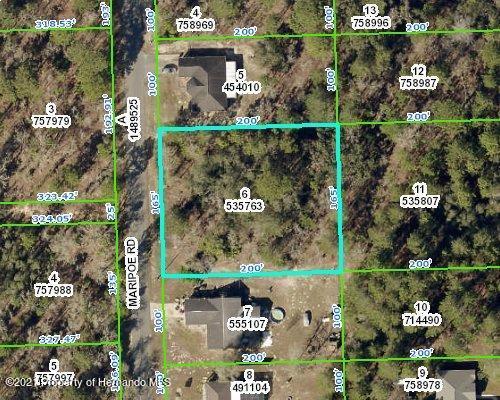 Listing Details for 0 Maripoe Road, Brooksville, FL 34614