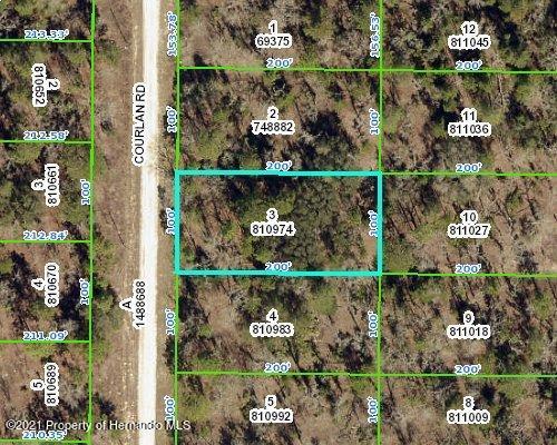 Listing Details for 0 Courlan Road, Brooksville, FL 34614
