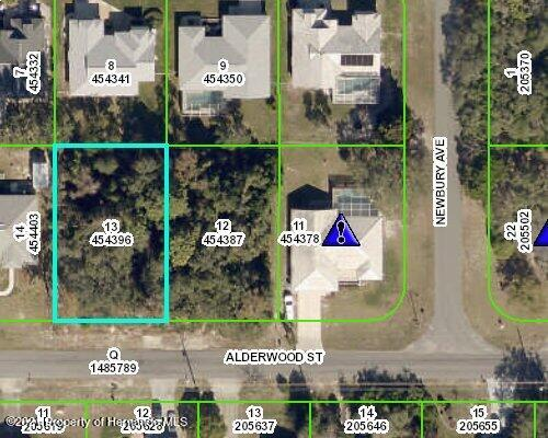 Listing Details for Lot13 Alderwood Street, Spring Hill, FL 34606