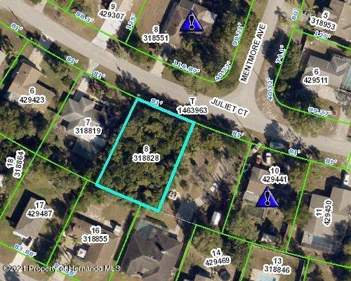 Listing Details for 0 Juliet Court, Spring Hill, FL 34606