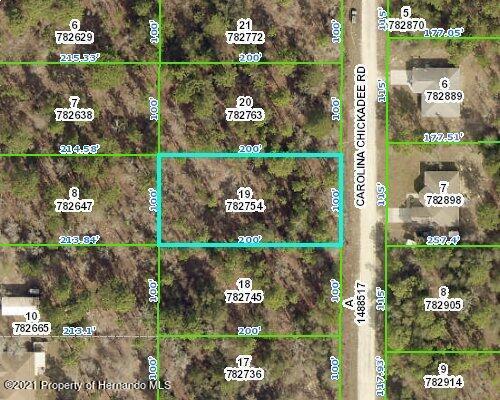 Listing Details for 0 Carolina Chickadee Road, Weeki Wachee, FL 34614