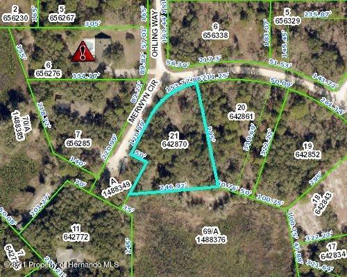 Listing Details for 00 Merwyn Circle, Weeki Wachee, FL 34614