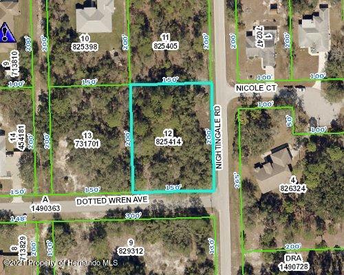 Listing Details for 0 Nightingale Road, Weeki Wachee, FL 34613