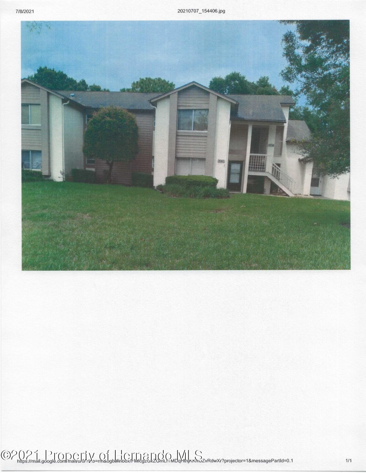 Listing Details for 7640 St Andrews Boulevard, Weeki Wachee, FL 34613