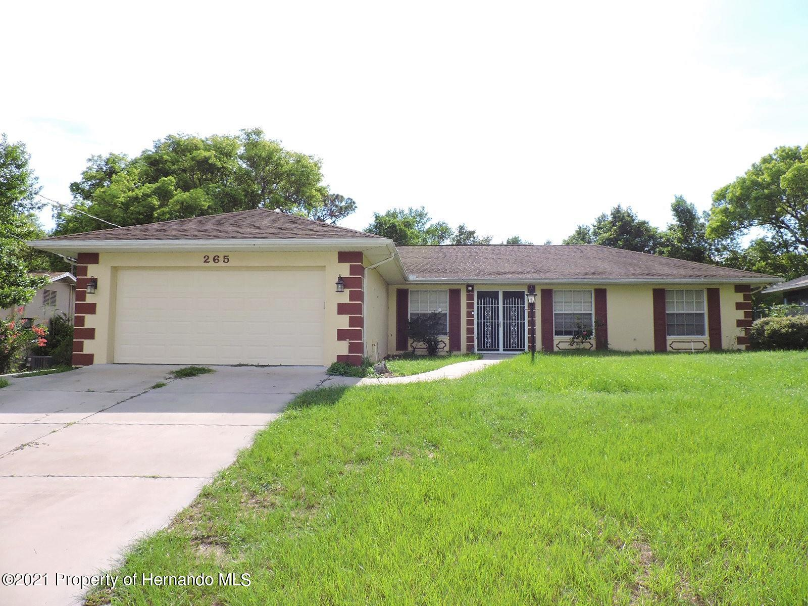 Details for 265 Clearfield Avenue, Spring Hill, FL 34606