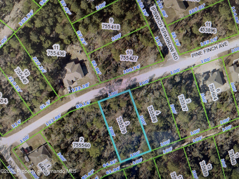 Listing Details for 0 Pine Finch Avenue, Weeki Wachee, FL 34614