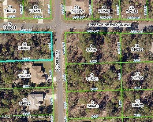 Listing Details for 0 Kildeer Road, Brooksville, FL 34614