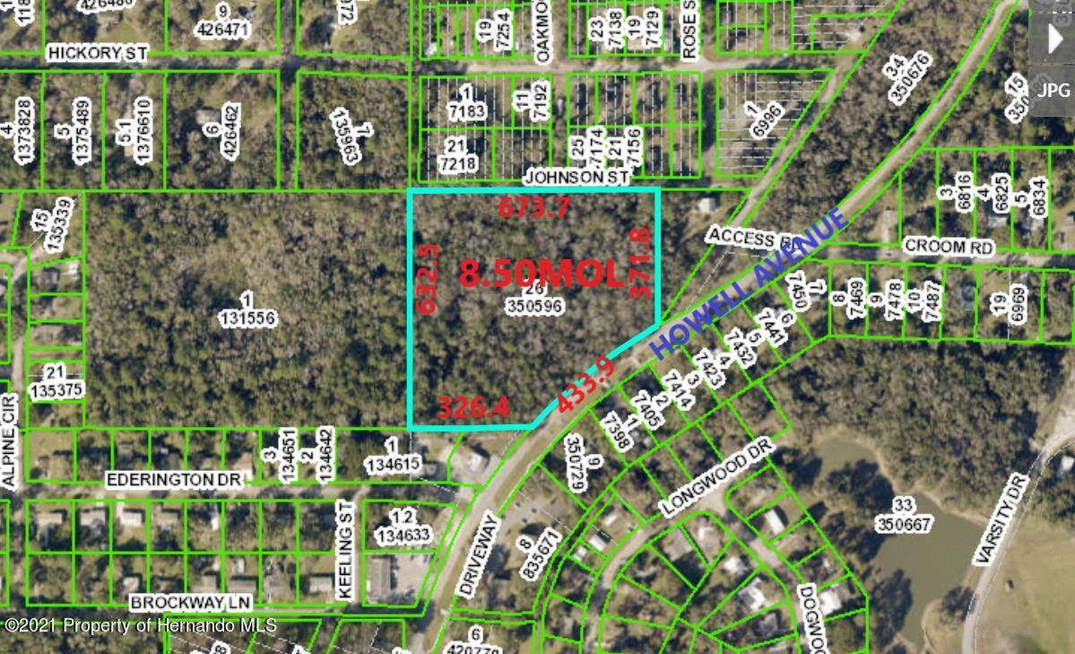 Details for 0 Howell Avenue, Brooksville, FL 34601