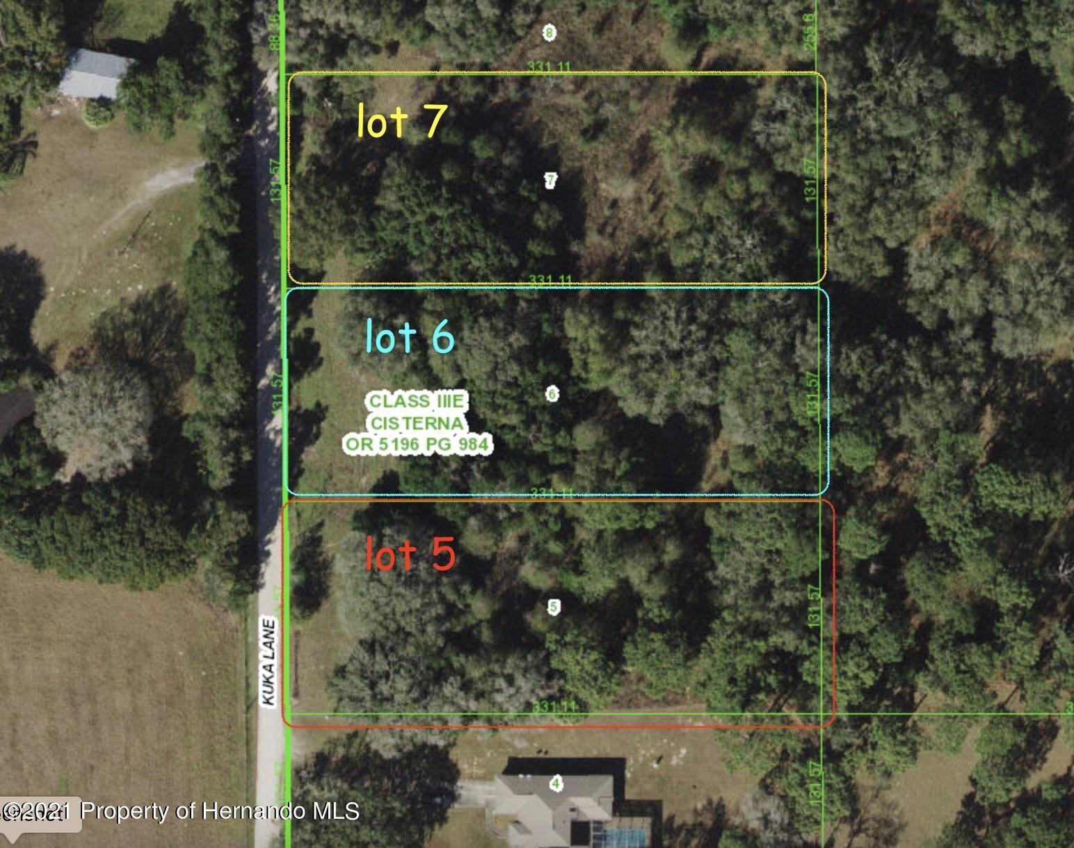 Listing Details for 00 Kuka (lot 6) Lane, Spring Hill Pasco, FL 34610