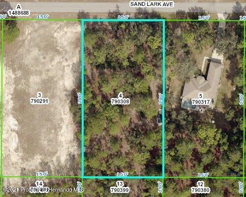 Listing Details for 0 Sand Lark Avenue, Weeki Wachee, FL 34614