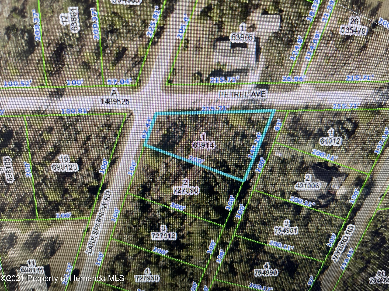 Listing Details for 0 Petral Avenue, Brooksville, FL 34614