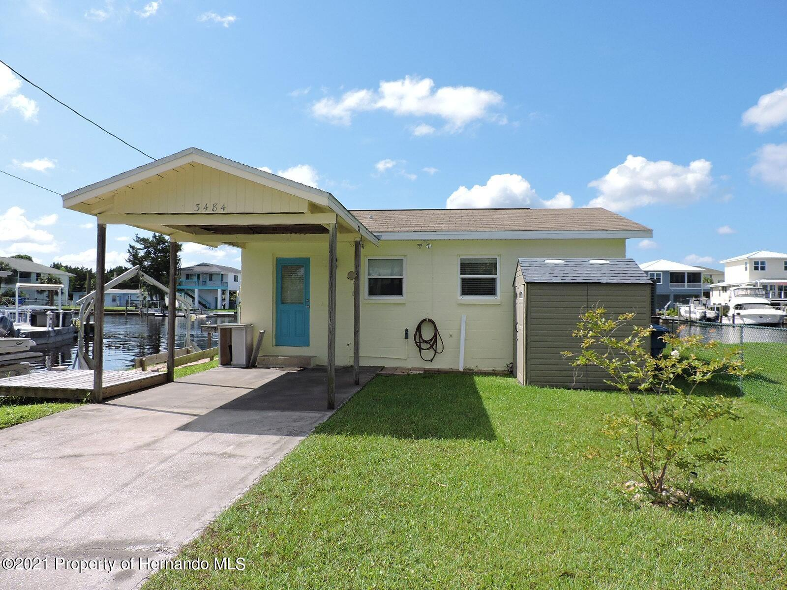 Details for 3484 Eagle Nest Drive, Hernando Beach, FL 34607