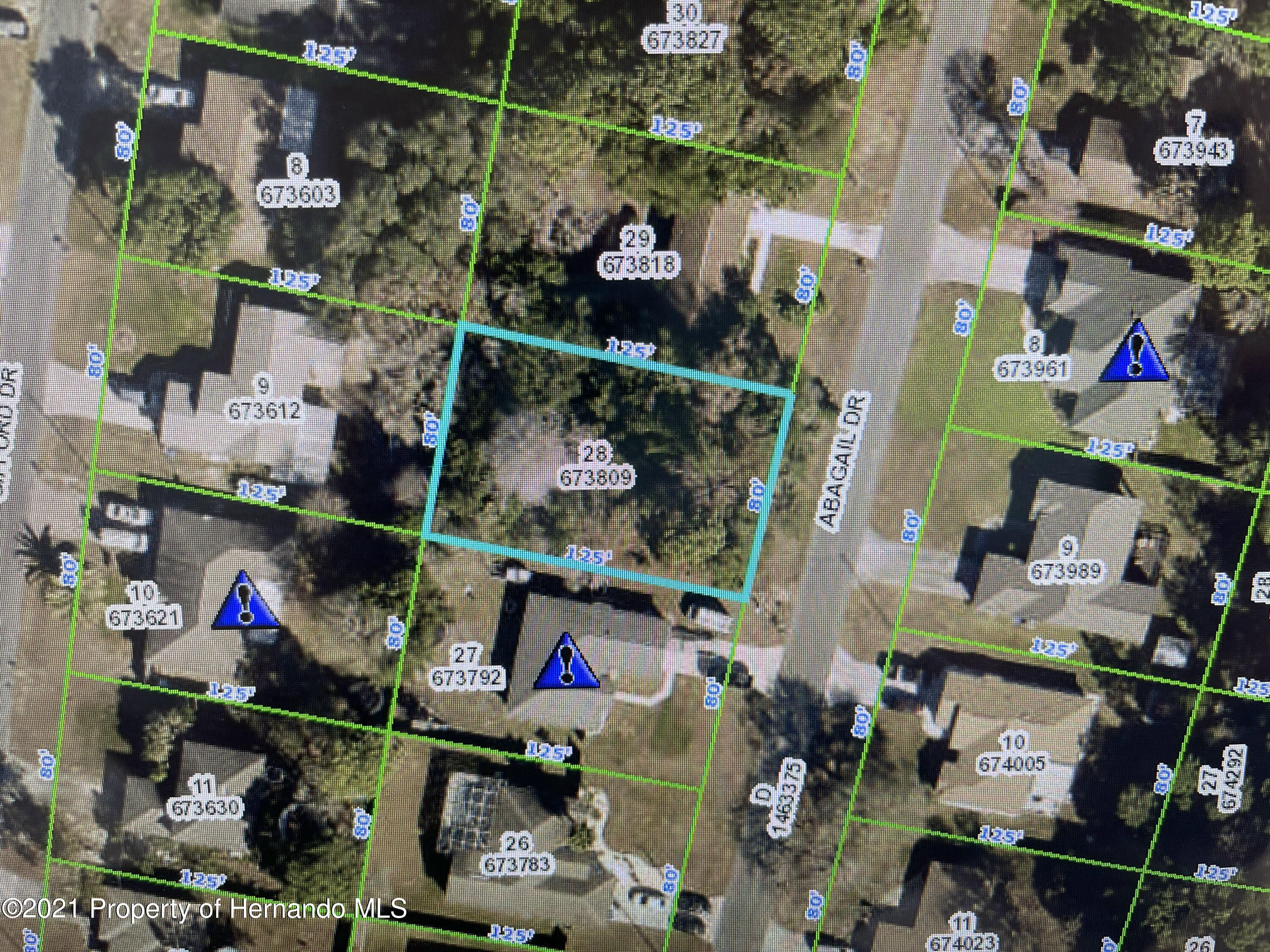 Listing Details for 0 Abagail Drive, Spring Hill, FL 34608