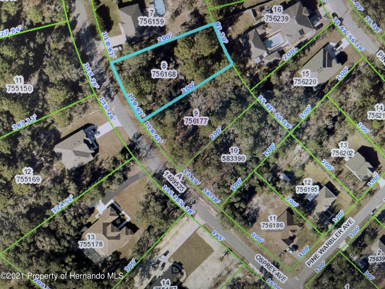 Listing Details for 0 Osprey Avenue, Brooksville, FL 34614