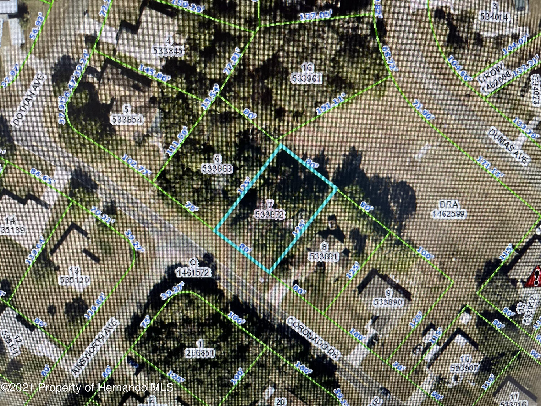 Listing Details for 0 Coronado Drive, Spring Hill, FL 34609
