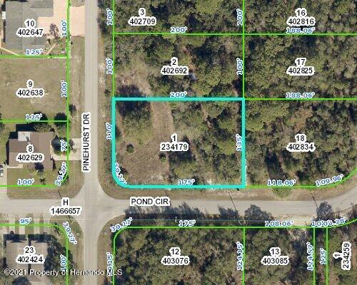 Listing Details for 00000 Pond Circle, Spring Hill, FL 34606