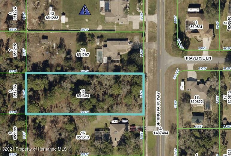Listing Details for 4025 Spring Park Way Way, Brooksville, FL 34604